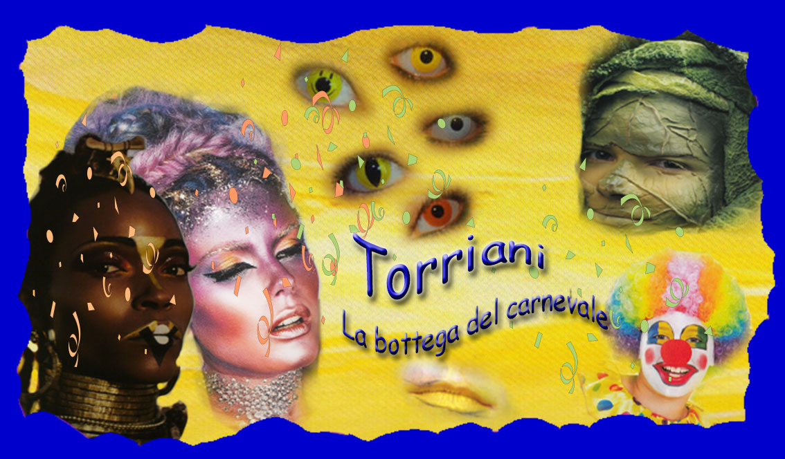 Torriani La Bottega del Carnevale tutto per make up e trucchi teatrali